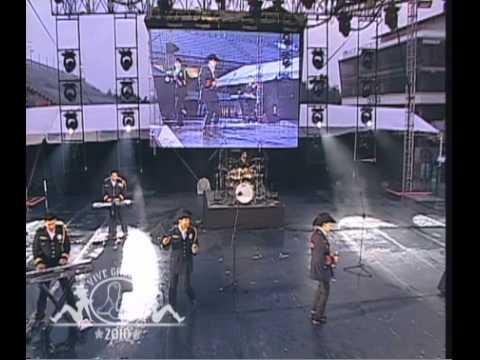 """Patrulla 81 en el Vive Grupero 2010 - """"La faldita"""""""