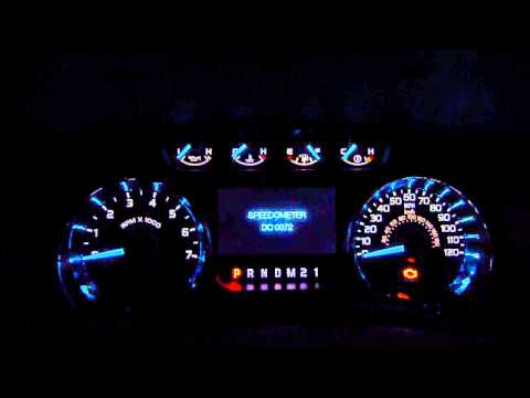 Ford F-150 Gauge & LED Test Mode