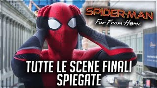 Spider-Man: Far From Home | TUTTE LE SCENE FINALI SPIEGATE