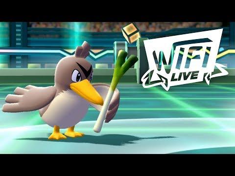 Pokemon Let's Go Pikachu & Eevee Wi-Fi Battle: Farfetch'd With The Leek! (1080p)