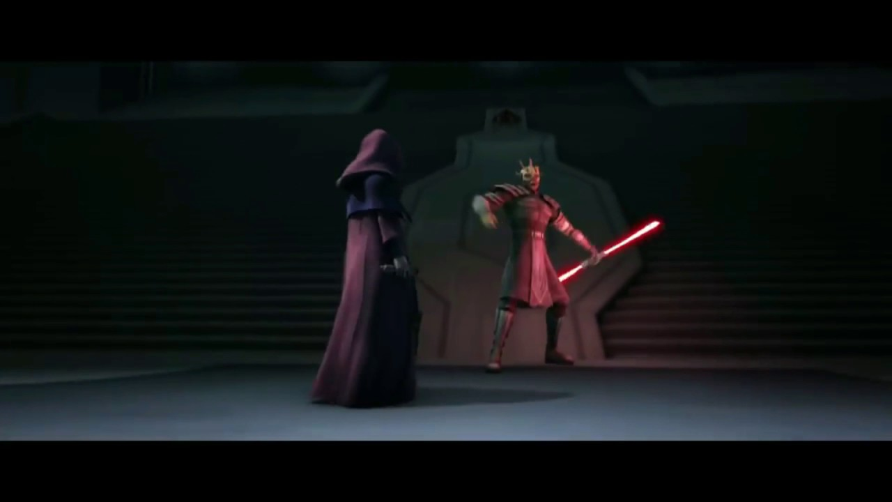 Darth Maul And Savage Vs Sidious HD