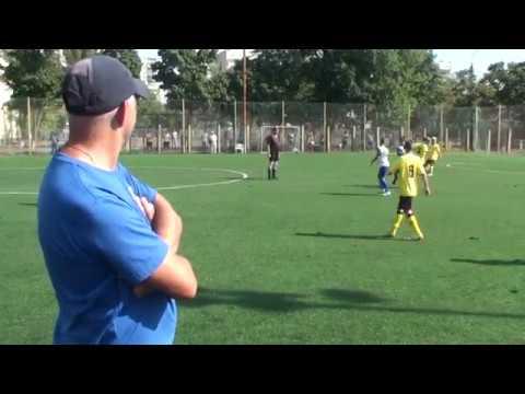 1 тайм ФК Атлет U11 Киев - ФК Чайка  U11 Киев (7+1) 08.09.2019