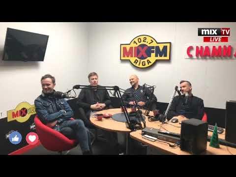 В гостях MIX MEDIA GROUP - группа Prāta Vētra (Brainstorm)  #MIXTV
