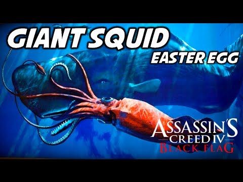 ASSASSIN'S CREED 4 - GIANT SQUID EASTER EGG [HD] - YouTube