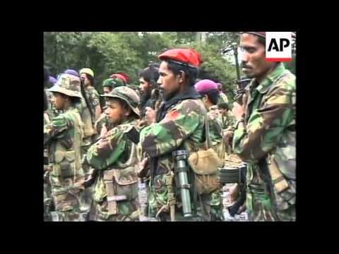 EAST TIMOR: GUERRILLA LEADER TAUR MATAN RUAK INTERVIEW