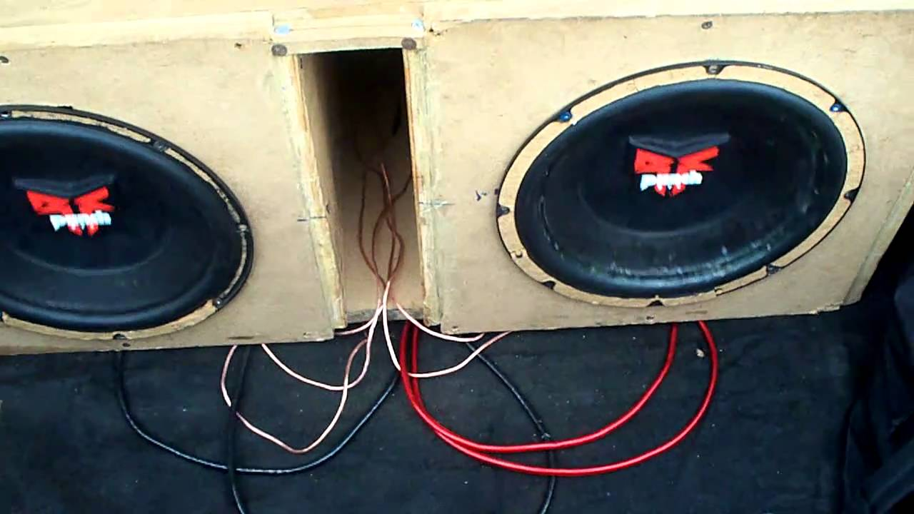 Two 12 Old School Rockford Fosgate Dvc Punch