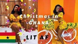VLOG| Christmas in GHANA  🇬🇭🔥