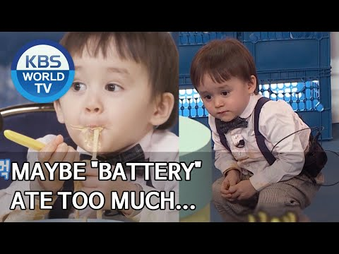 """Maybe """"Battery"""" Ate Too Much... [The Return Of Superman/2020.04.05]"""