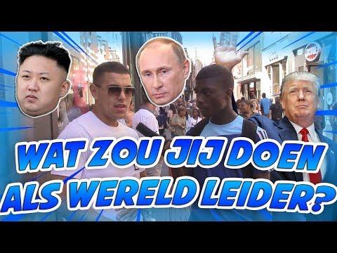 WAT ZOU JIJ DOEN ALS WERELDLEIDER? - AMSTERDAM