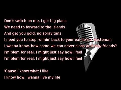 Drake - Blem (lyrics)