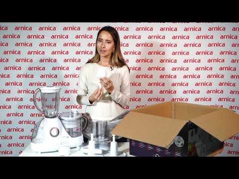 Arnica Prokit 444 Plus Kompakt Mutfak Robotu Kutu Açılımı