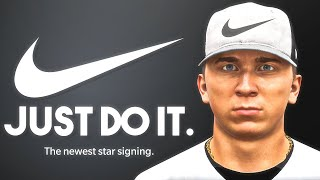 Signing record deal with Nike! MLB The Show 21 Road To The Show #2
