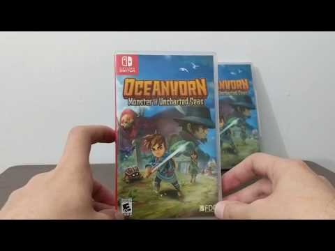 Oceanhorn (Switch) Unboxing From Limited Run Games