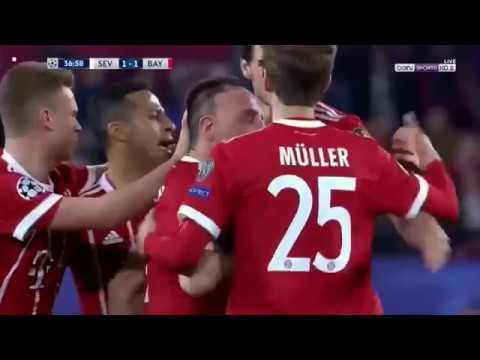 Download Sevilla vs Bayern Munich 1-2 All Goals & Extended Highlights 03/04/2018 HD