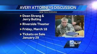 Avery attorneys to appear at Milwaukee panel discussion