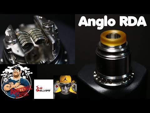 Anglo RDA by DukunVape & Hellvape Review & Build