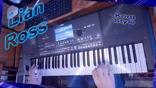 KorgStyle & Lian Ross - Say You'll Never (Korg Pa 600) EuroDisco80