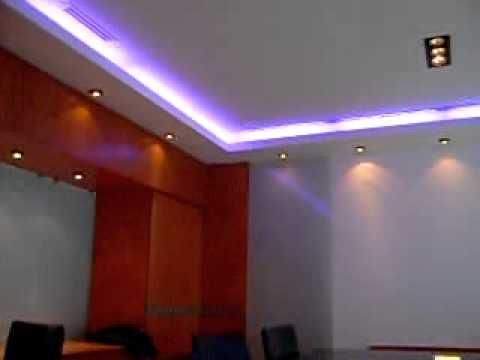 Iluminaci n interiores led doovi for Casa moderna minimalista interior 6m x 12 50m
