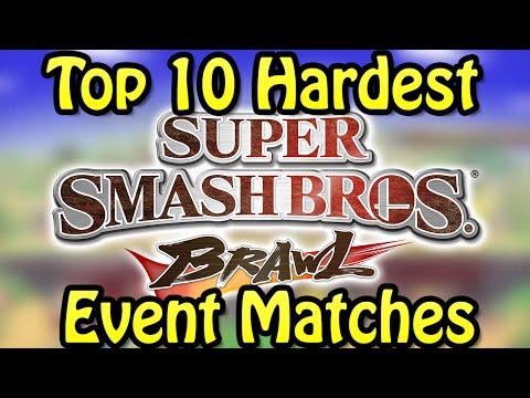 Top 10 Hardest Super Smash Bros. Brawl Event Matches