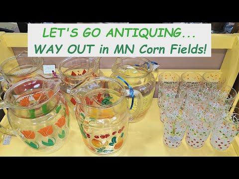 SHOP WITH US @ ANTIQUES Of THE MIDWEST Mall, Part 1 for Vintage Retro Décor + SCENIC COUNTRY DRIVE!!
