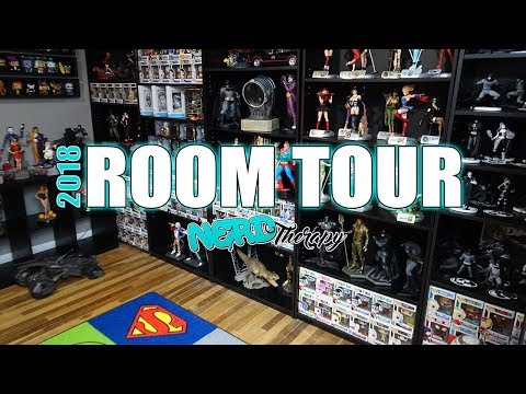 Room Tour | A Tour of Our Giant Nerdy Collection 2018!!!