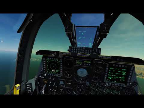 DCS: Igg Corps First short flight on the Persian Gulf Map