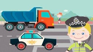 Развивающий мультик для детей  - Машинки и правила дорожного движения. Машинки мультики.