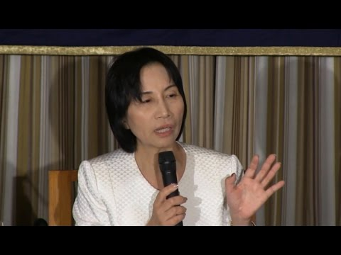 "Midori Matsushima: ""The death penalty, sex offenses, immigration, women's roles and other policies"""