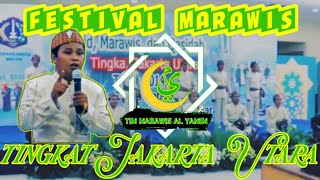 Marawis ALYAMIM || festival marawis || tingkat Jakarta Utara || lagu sholawat Birosulillah