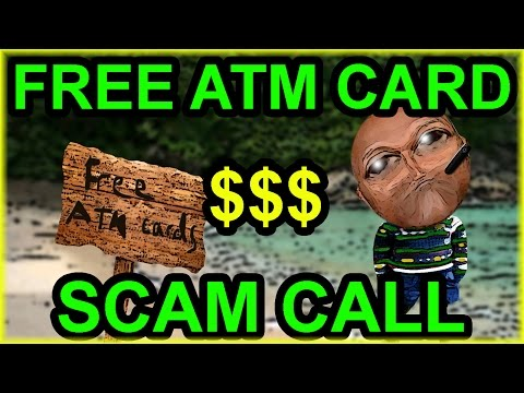 Messing With A Free ATM Card Scammer - The Hoax Hotel