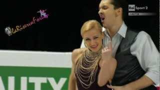 ISU WORLD 2013 - PAIRS -18/19- Tatiana VOLOSOZHAR  Maxim TRANKOV - 13.03.2013
