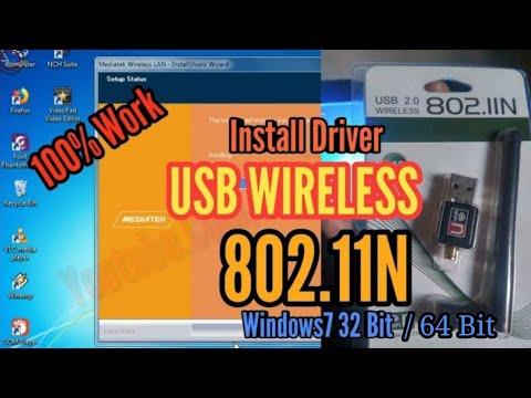 Install Driver Usb Wireless 802.11n Di Windows7 32 Bit, Tanpa CD-Rom