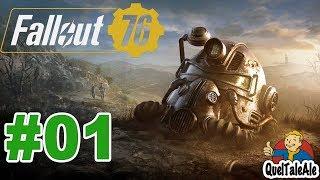 Fallout 76 - Gameplay ITA - Walkthrough #01 - I primi coloni
