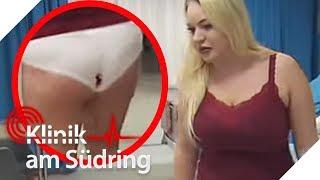 Poloch rasiert für sexy Arzt! Er soll sie nackig heiß finden! | Klinik am Südring | SAT.1