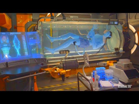 [4K] Avatar Ride Full Tour of Flight of Passage ride Queue - Disneys Animal Kingdom