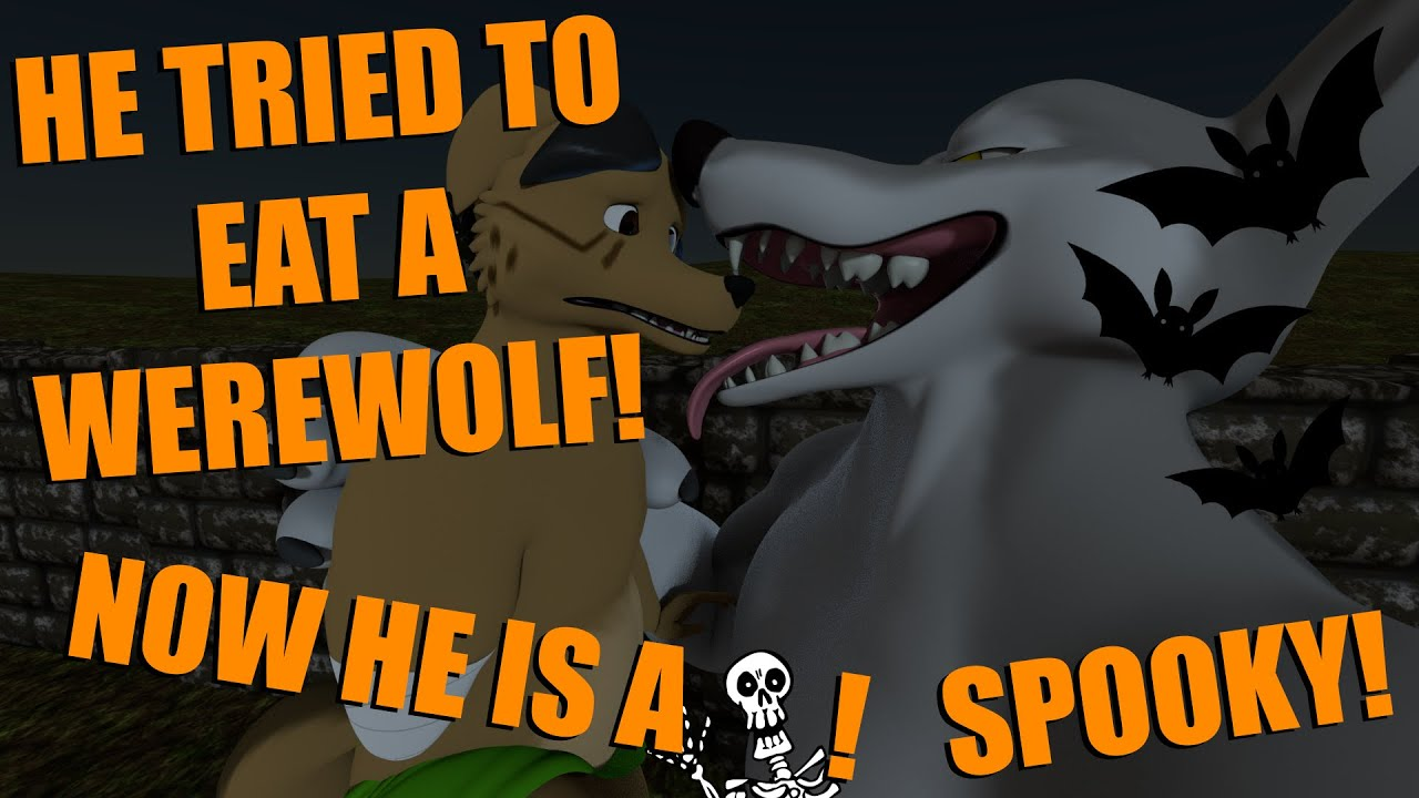 Never try to eat a werewolf during a full moon