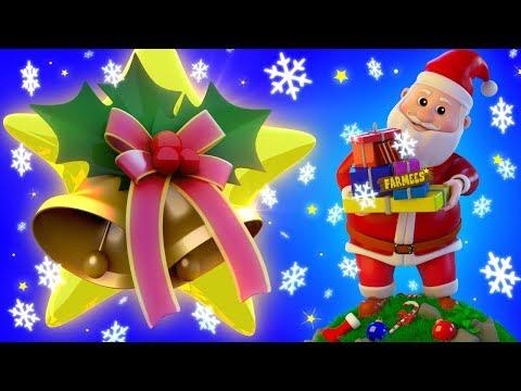 Jingle Bells Jingle Bells | Toddlers  Songs  | Santa Claus Videos | Christmas  Carol With Farmees