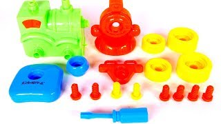 Building a Toy Train for Children with Yippee Toys