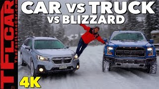 2019 Ford Raptor vs Subaru Outback: What