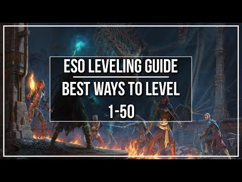 ESO Leveling Guide  Best Ways to Level 150 and beyond