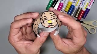 איך מכינים גורילה מגליל נייר טואלט - סדנת יצירה לילדים