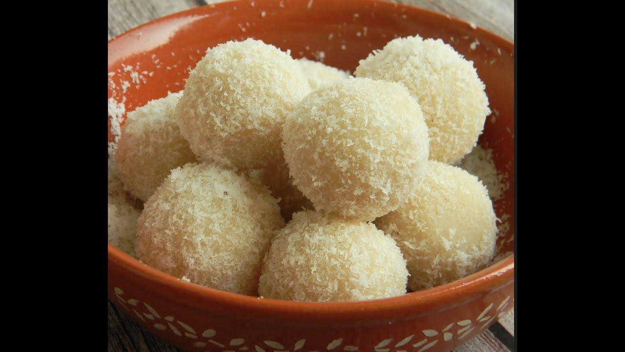 Instant Coconut Ladoo - 5 मिनट में बनाएँ हलवाई जैसे नारियल के लड्डू | Nariyal Ladoo | Coconut Laddu