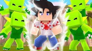 Minecraft: A BATALHA CONTRA OS SAIBAIMANS !! - DRAGON BLOCK C Ep.2 ‹ FENTOM ›