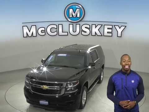 A15402TR Used 2019 Chevrolet Suburban LT 4WD Black SUV Test Drive, Review, For Sale -
