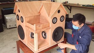 Great creations from wood  - The combination of sound and the house
