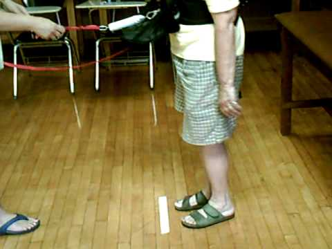Physical Therapy: Balance Test :The Spring Scale Test (SST)