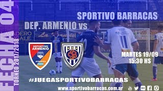 Deportivo Armenio vs Sportivo Barracas full match