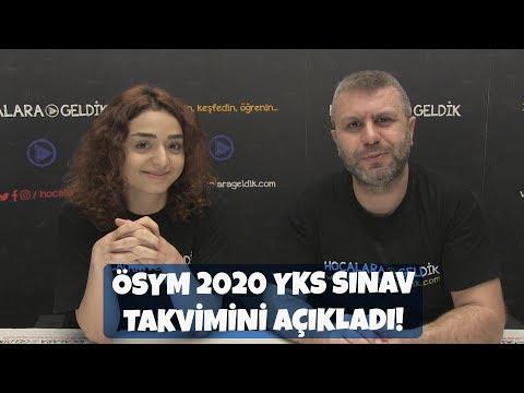 ÖSYM, 2020 YKS Sınav Takvimini Açıkladı!
