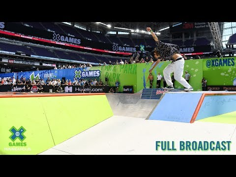 Men's Skateboard Park: FULL BROADCAST | X Games Minneapolis 2019
