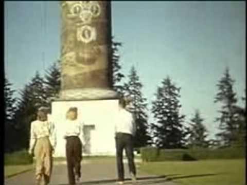 Astor Column, 1947 color 16mm home movie